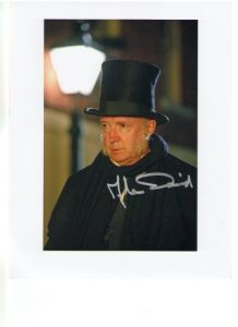Alan David from Doctor Who Signed 10 x 8 Photograph